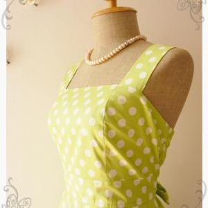 Lime Green Summer Dress Bridesmaid ..