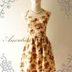 Flower Dress Amor Vintage Inspired ..