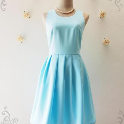 LOVE POTION - Blue backless dress, ..