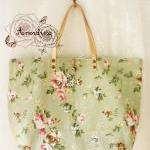 Floral Tote Bag Printed Canvas Bag ..