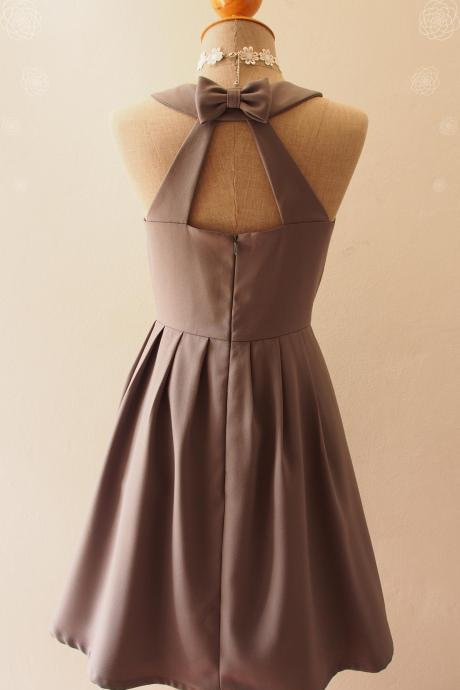 LOVE POTION - Charcoal Gray dress, gray Bridesmaid Dress, gray Dress, gray Party Dress, Vintage Inspired, Audrey Hepburn Dress, Skater Dress, gray formaldress, Summer Dress